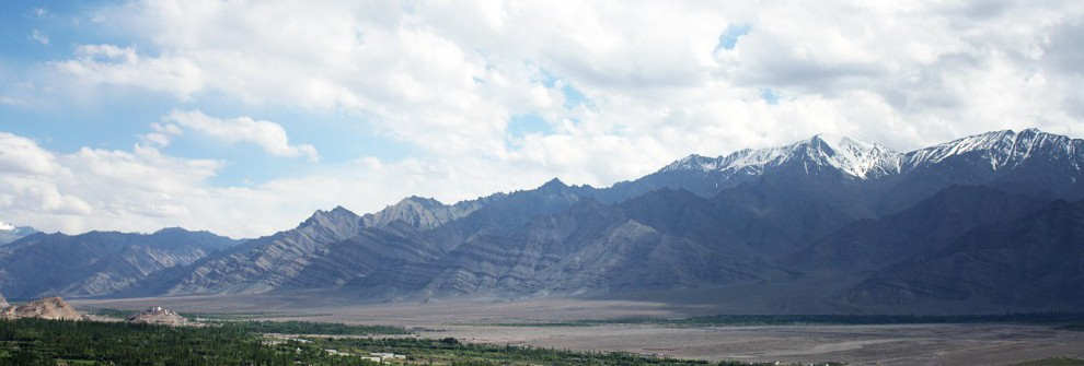 Indus valley panorama, Leh
