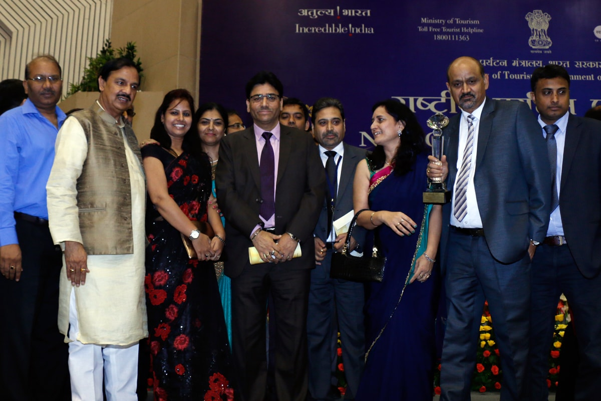 National Tourism Awards - Active India Holidays